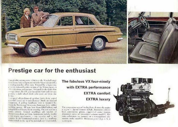 Vauxhall Victor VX ad