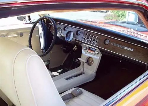 mercury-cougar-xr7-dash