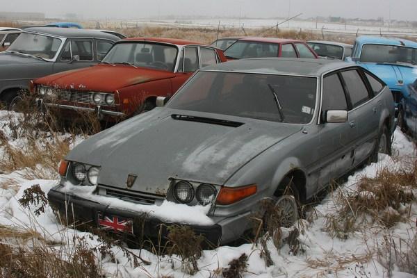 1980 Rover 3500 SE