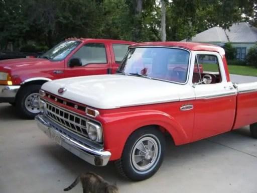 Ford F100 Ranger 1965 fq