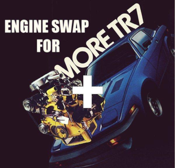 Tr7 engine swap3