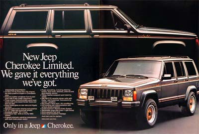 jeep cherokee ltd