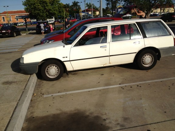 Holden Camira wagon