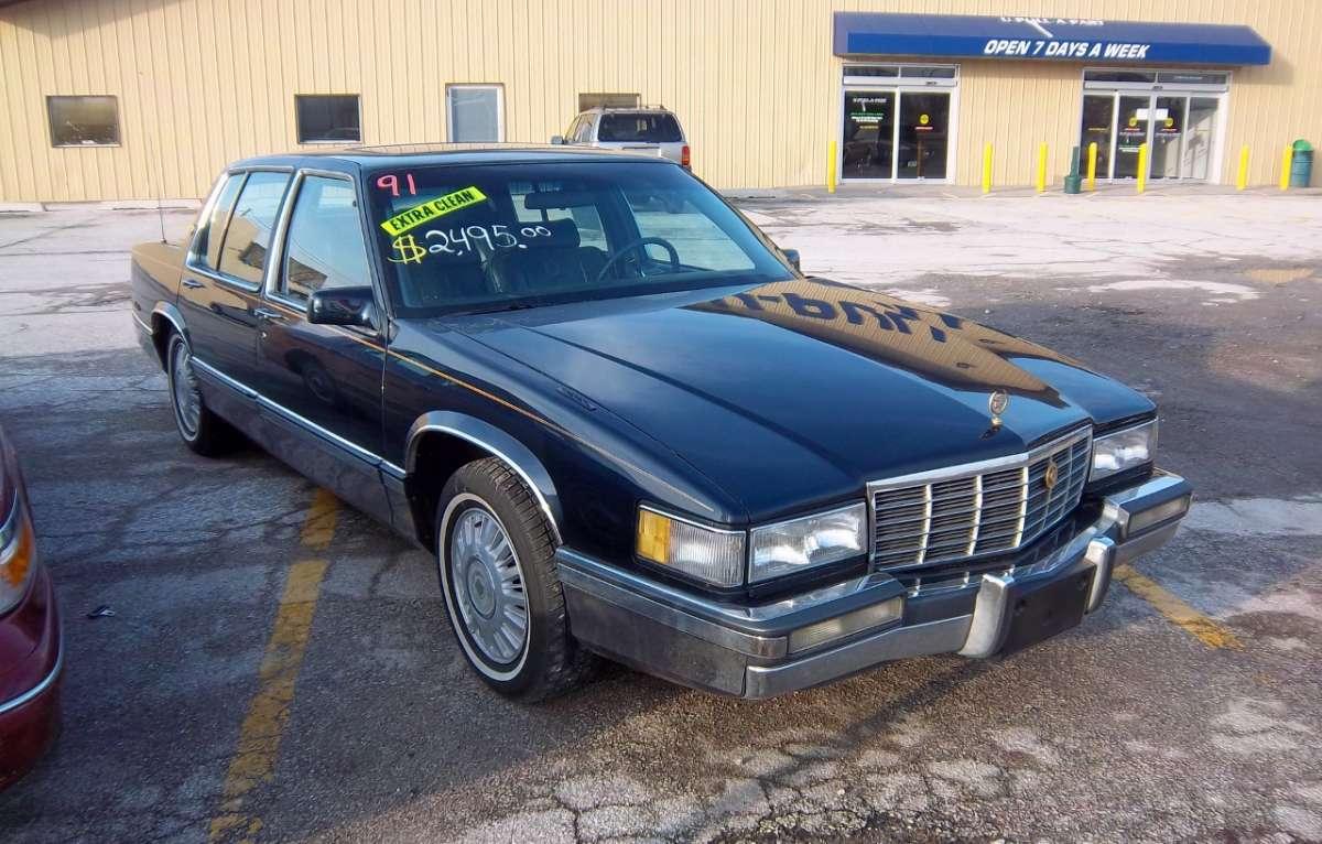 Curbside Classic 1991 Cadillac Sedan De Ville Save Me