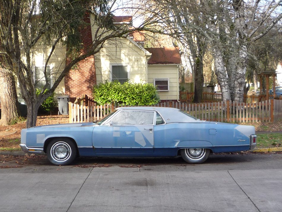 Curbside Classic 1970 Lincoln Continental Coupe Hot Rod Lincoln