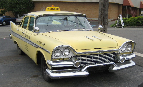 Dodge taxi 1958