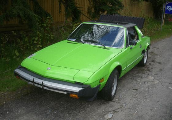 Fiat X 1 9