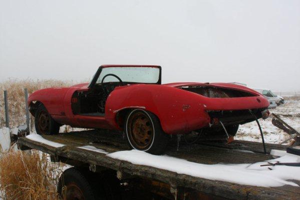 Jaguar E-Type Kit Car rear
