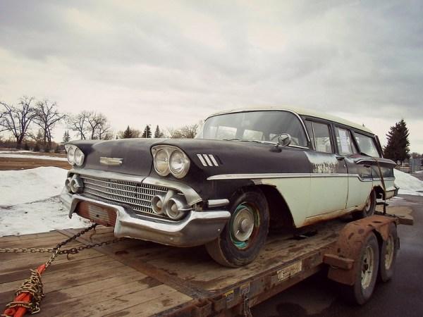 1958 Chevrolet Yeoman wagon