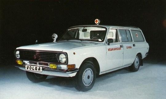 9 Volga ambulance