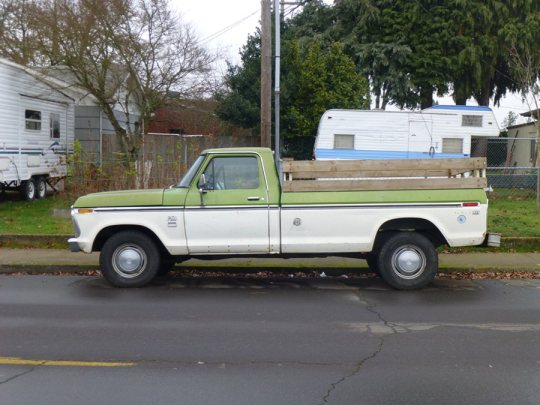 1973 ford f250 weight
