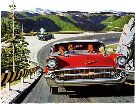 Chevrolet 1957 ad