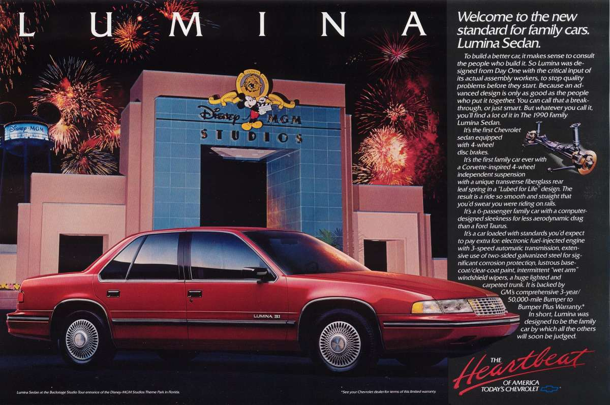 All Chevy 1997 chevy lumina owners manual : Curbside Classic: 1991 Chevrolet Lumina Euro – GM's Deadly Sin ...