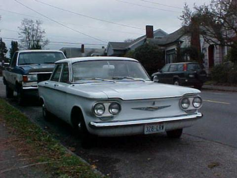 Corvair 1960 white