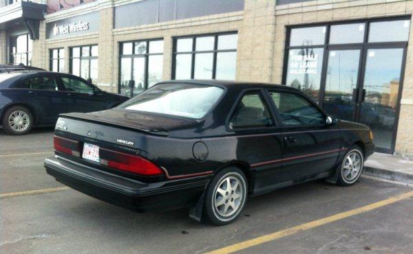 Mercury Topaz GS rear