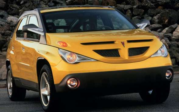Pontiac-Aztek-Concept-front-three-quarters