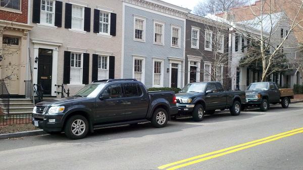 Three compact pickups 600