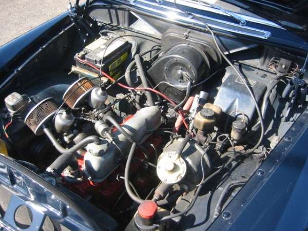 Volvo 122s engine