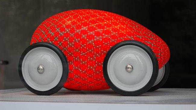 how to make a egg car