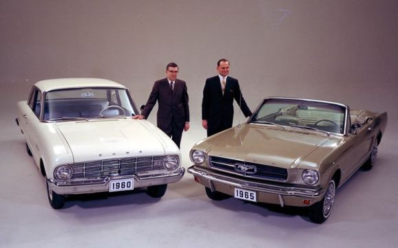 ford falcon and-ford-mustang