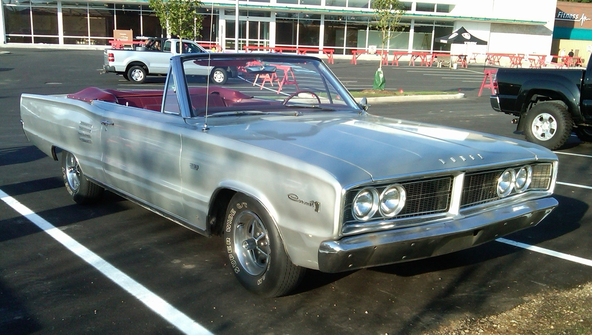 Curbside Classic: 1966 Dodge Coronet 500 – This B-Body Earns an \'A\'