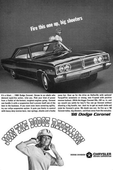 1966DodgeCoronetAd001