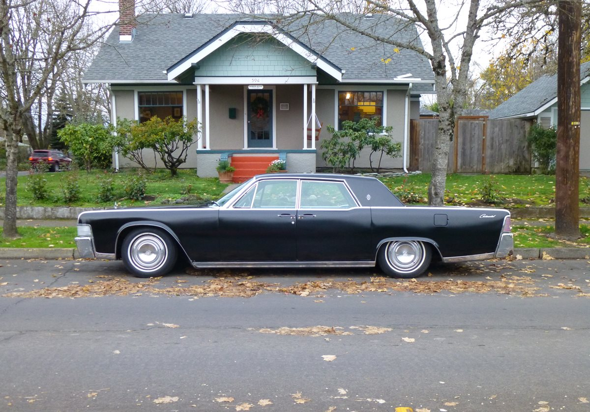Curbside Classic: 1965 Lincoln Continental – The Last Great American ...