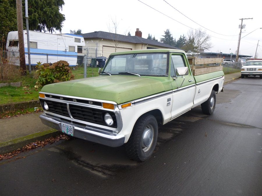 CC 185 087 900 curbside classic 1973 ford f 350 super camper special ford goes  at n-0.co