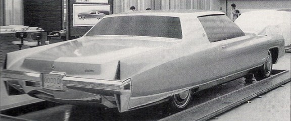 Cadillac 1971 clay 2