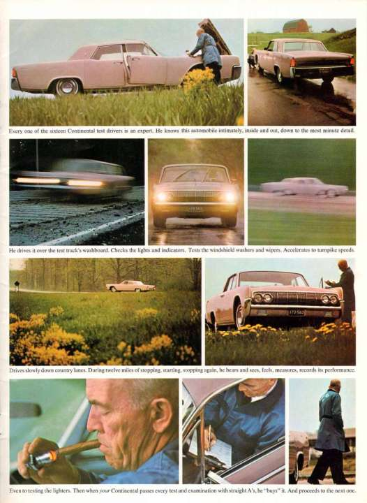 Lincoln Continental 1964 road test-17