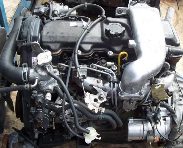 Toyota 2L diesel engine