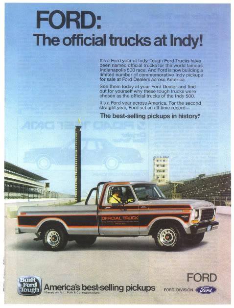 1979FordOfficialPaceTruck