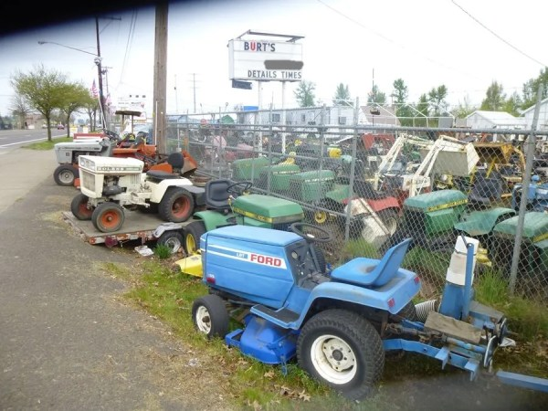 Lawnside Classics: Burt's – Vintage and Used Riding Mower And Garden