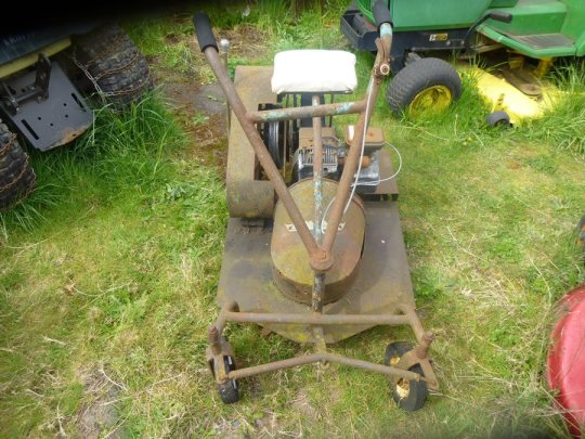 Lawnside Classics: Burt's – Vintage and Used Riding Mower