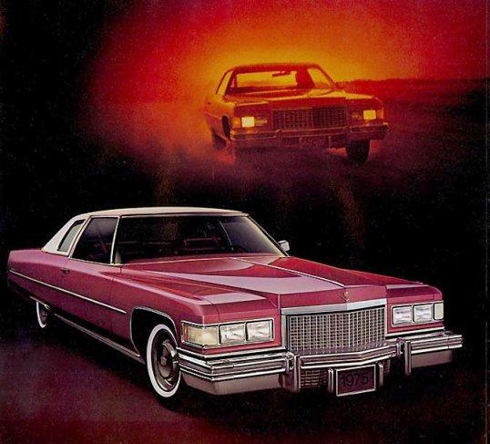 Cadillac 1975 coupe deville