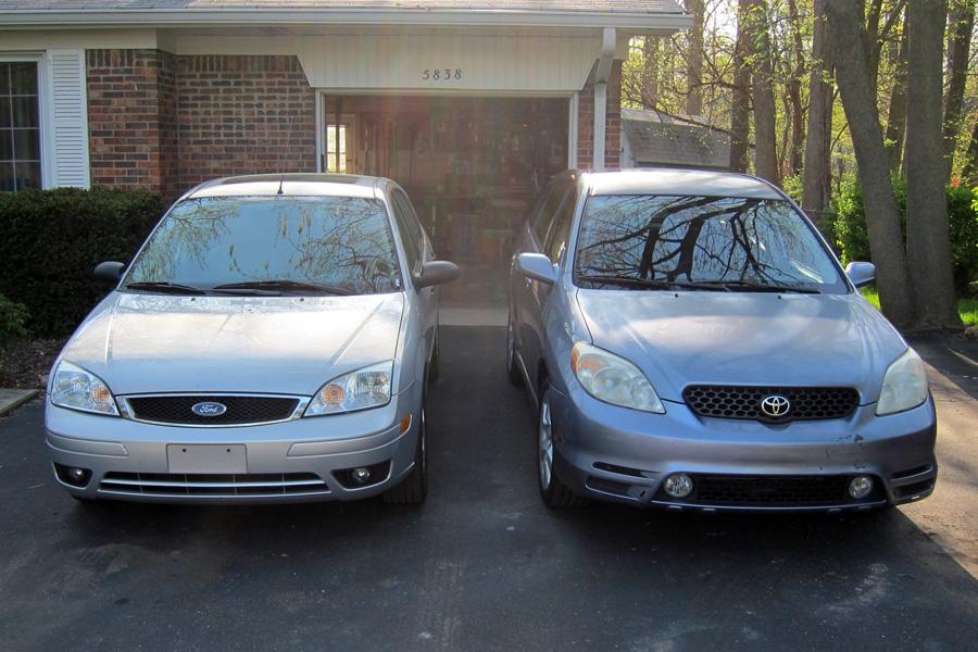 COAL Smackdown 2003 Toyota Matrix XRS vs 2006 Ford Focus ZX5 SES