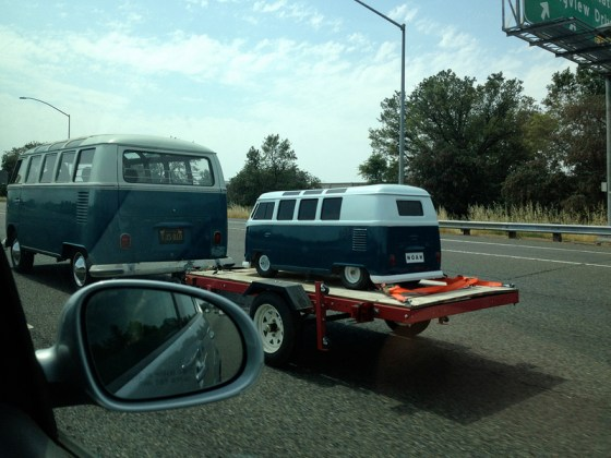 VW Bus and mini-me (Paulvaranasi)