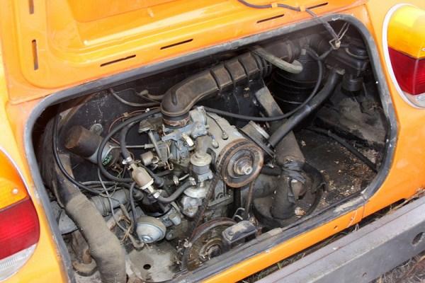 Volkswagen Thing engine