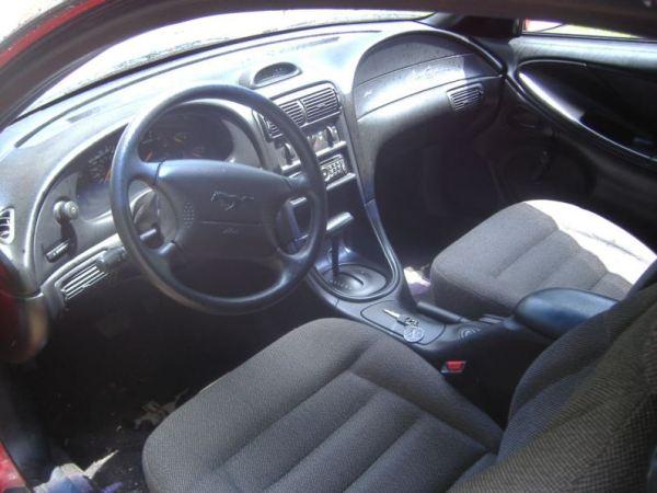 1996 Mustang GT interior