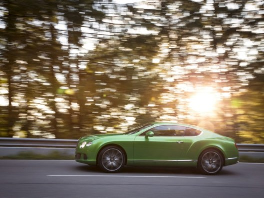 Bentley Continental GT Spped green