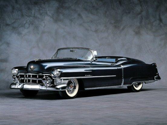 Cadillac Eldorado_Convertible_1953