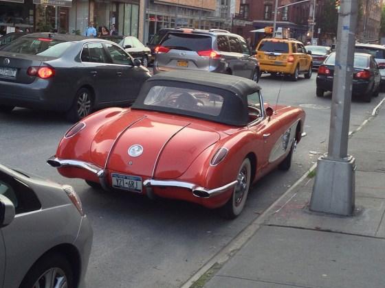 Corvette in NYC r