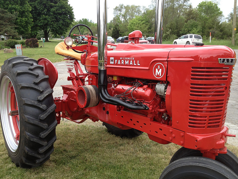Cohort Sighting International Farmall M V8 Can I Take