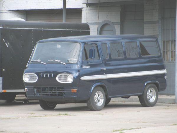 1963-67 Ford Falcon Club Wagon Victoria TX