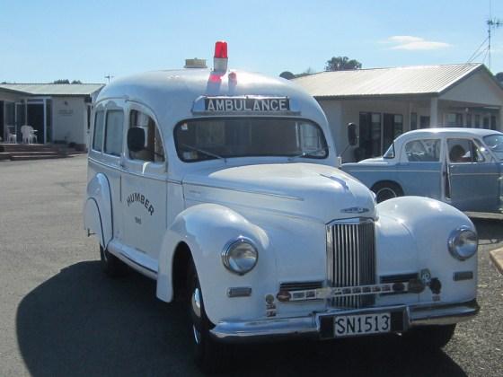 Humber 1949 ambulance f