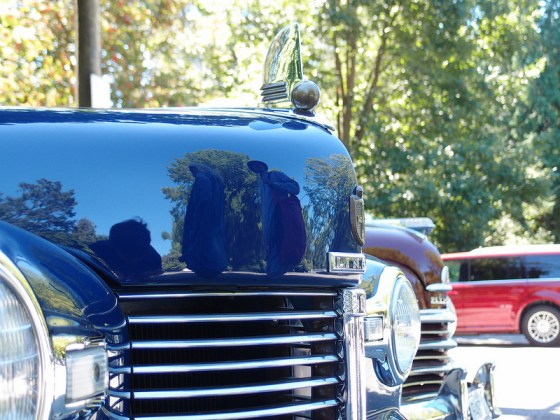 Lincoln Continental 1942 hood