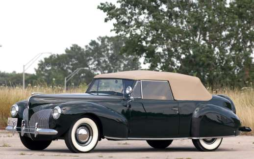 Lincoln Zephyr Continental Cabriolet 1939-40