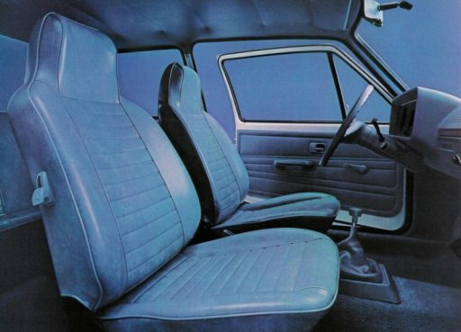 vw rabbit interior crop