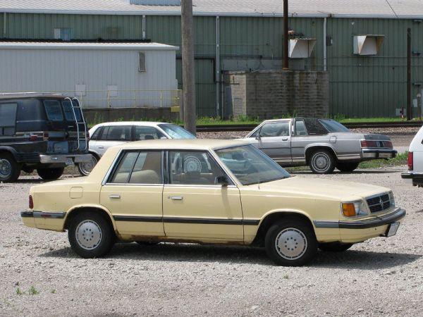 1985-89 Dodge Aries Fremont NE 19 June 2010