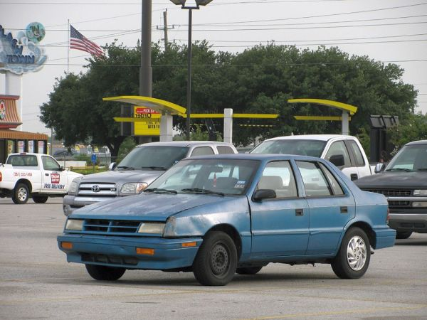 1989-94 Dodge Shadow I-45 Spring 02 Jul 12